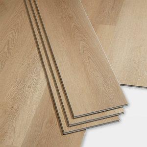 Image of GoodHome Gospel Natural Wood effect Luxury vinyl click flooring 1.95m² Pack
