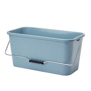 Blue & grey Polypropylene 10L Bucket