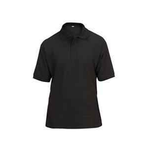 Site Tanneron Black Men's Polo shirt X Large