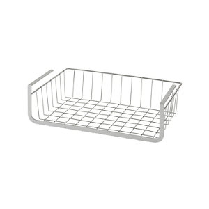 Image of GoodHome Datil Chrome effect Non-magnetic Steel Shelving (L)400mm