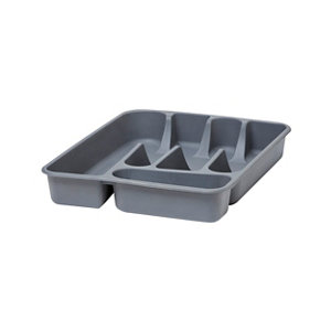 Image of GoodHome Datil Polypropylene (PP) Non-adjustable Cutlery tray (H)51mm (W)260mm