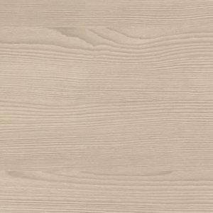 GoodHome Kala Matt Wood effect White Worktop edging tape  (L)3m