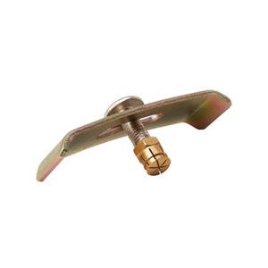 Image of GoodHome Steel & zinc Sink brackets (L)66mm (W)20mm
