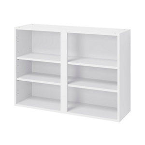 Image of GoodHome Caraway Matt White Standard Wall cabinet (W)1000mm