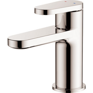 Image of GoodHome Berrow 1 lever Chrome-plated Contemporary Basin Mono mixer Tap