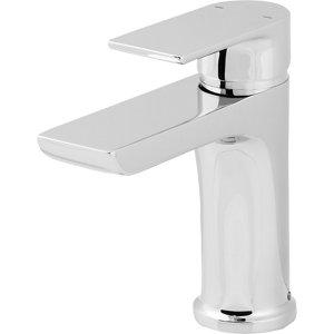GoodHome Osani 1 lever Chrome-plated Contemporary Basin Mono mixer Tap