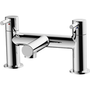 Image of GoodHome Lazu Chrome-plated Bath Mono mixer Tap
