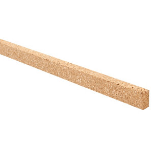 Image of Diall Cork Expansion strip (L)0.6m Pack of 18