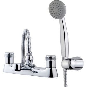 Image of GoodHome Annagh Chrome-plated Bath Shower mixer Tap