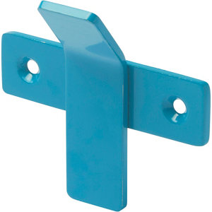 Image of GoodHome Amantea Blue Stainless steel Hook (H)67mm