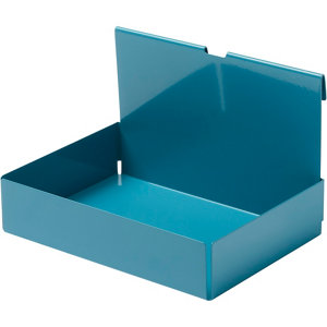 Image of GoodHome Amantea Stainless steel Blue Box