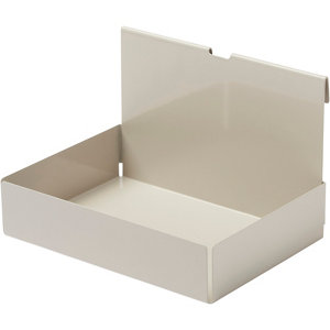 Image of GoodHome Amantea Brown Box (W) 206mm