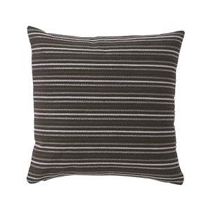Image of Agra Stripes Grey Cushion