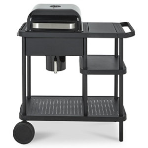 Image of Blooma Rockwell 210 Black Charcoal Barbecue