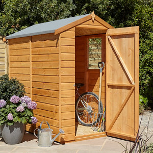 Image of Blooma 6x4 Apex Shiplap Shed