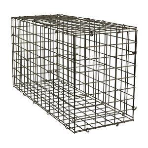 Galvanised Steel Gabion kit  (H)40cm (W)0.8m