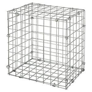 Galvanised Steel Gabion kit  (H)40cm (W)0.4m