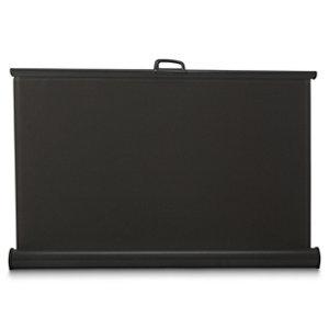 Image of Aluminium & polyester (PES) Grey Terrace blind (H)1.6m (W)3m