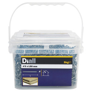 Image of Diall Lost head nail (L)50mm (Dia)3mm 5kg Pack