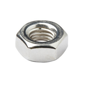 Image of Diall M10 Stainless steel Lock Nut Pack of 10