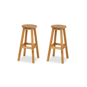 Porak Non-adjustable Fixed Stool  Pack of 2