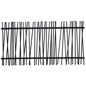 Image of GoodHome Neva Tube fencing (L)1.8m (H)0.9m