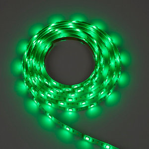 Image of Colours Driggs Mains-powered LED Multicolour Strip light IP20 400lm (L)5m