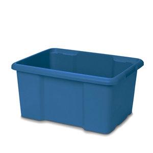 Image of Form Fitty Blue 26L Plastic Storage box