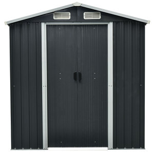 Rough Surface 6x3 Apex Metal Shed