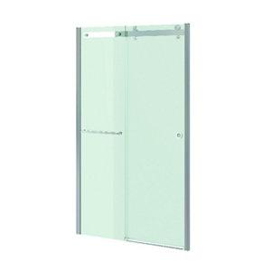 GoodHome Naya Clear Framed Sliding Shower Door (W)1200mm