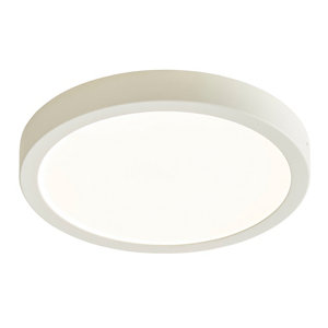 Image of Aius Brushed White Ceiling light