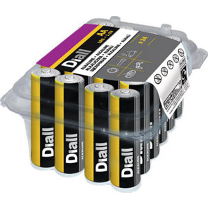 Image of Diall Non-rechargeable AA Battery Pack of 24