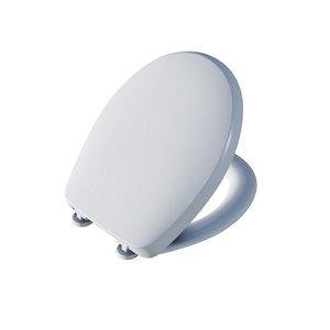 Cooke & Lewis Surano White Soft close Toilet seat