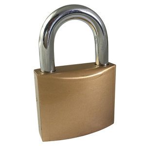 Image of Ever Strong Iron Cylinder Padlock (W)48mm
