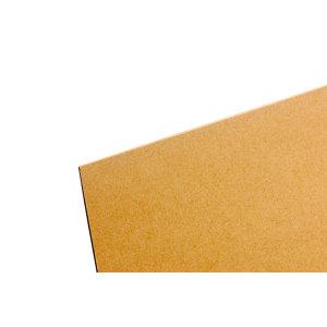 Image of Brown Hardboard (L)1.22m (W)0.61m (T)3mm