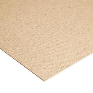 Image of Brown Hardboard (L)0.81m (W)0.41m (T)3mm