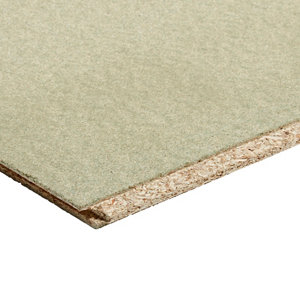 Image of Chipboard Tongue & groove Floorboard (L)2.4m (W)600mm (T)22mm