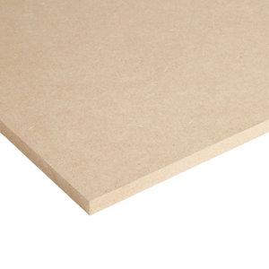 Image of MDF Board (L)1.22m (W)0.61m (T)12mm