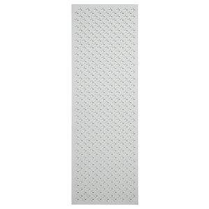 Image of Fleur de lis White MDF Screening panel (L)1.83m (W)0.61m (T)6mm