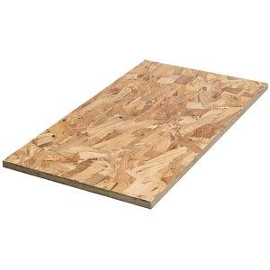 OSB 3 Board (L)2.44m (W)1.22m (T)18mm