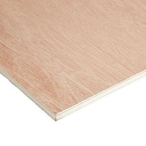 Hardwood Plywood Board (L)1.83m (W)0.61m (T)12mm