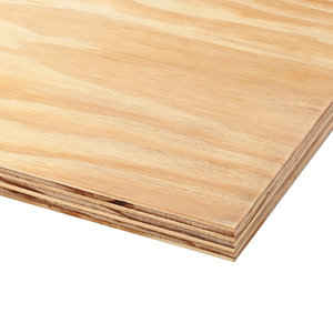 Image of Bulk plywood Natural Softwood Plywood Board (L)2.44m (W)1.22m (T)18mm