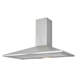Image of CHS90 Inox Stainless steel Chimney Cooker hood (W)90cm