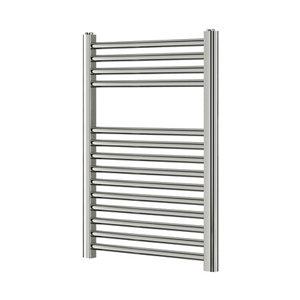 Image of Blyss 165W Electric Chrome Towel warmer (H)700mm (W)400mm