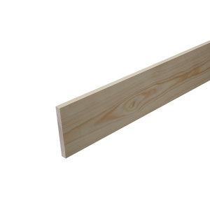 Smooth Square edge Pine Stripwood (L)2.4m (W)92mm (T)10.5mm