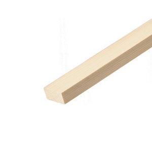 Smooth Square edge Pine Stripwood (L)2.4m (W)36mm (T)15mm
