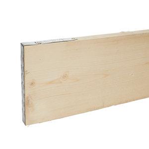 Image of Sawn Softwood Scaffold board (L)3.9m (W)0.23m (T)38mm