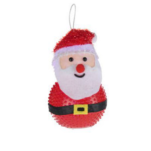 Image of Battery operated Colour changing light function Santa Silhouette