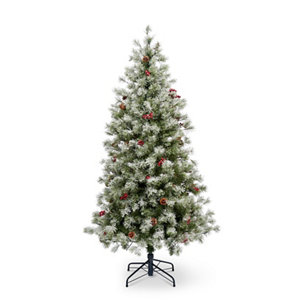 Image of 6 ft Fairview Pre-lit LED Christmas tree