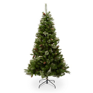 Image of 6.5 ft Stargard Pre-decorated Christmas tree